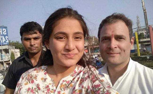 rahul gandhi selfie
