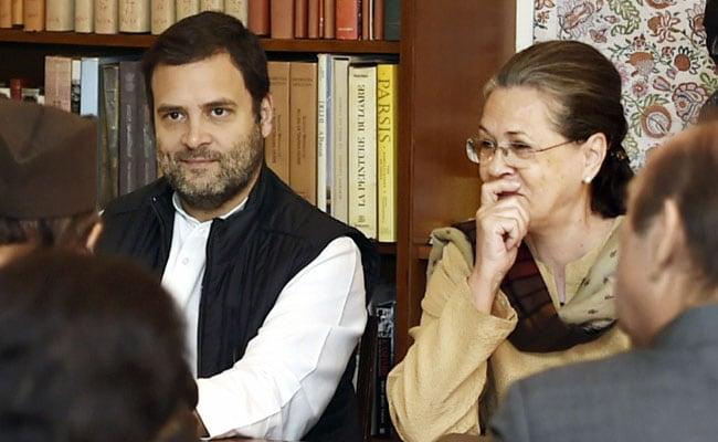 नए साल का जश्न मनाने मां सोनिया गांधी के पास गोवा पहुंचे कांग्रेस अध्यक्ष राहुल गांधी