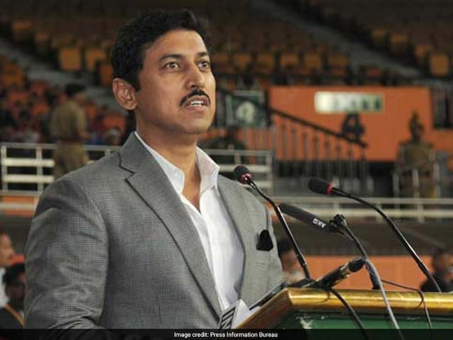 Commonwealth Games 2018: Rajyavardhan Rathore Asks CGF And England Not To Remove Shooting From 2022 CWG Roster