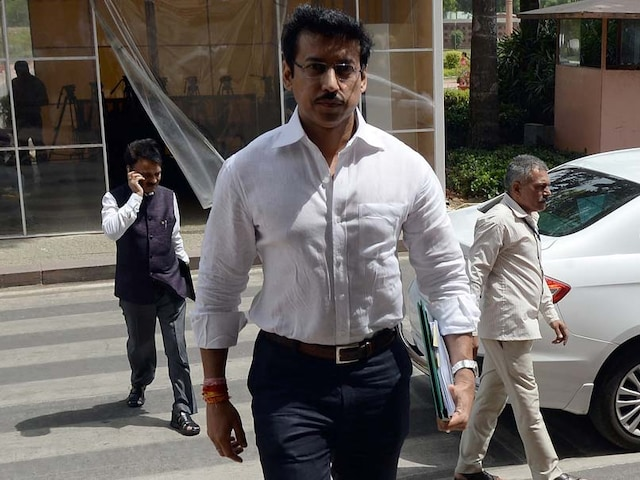 Rajyavardhan Singh Rathore Says Government Is Finalising National Sports Code
