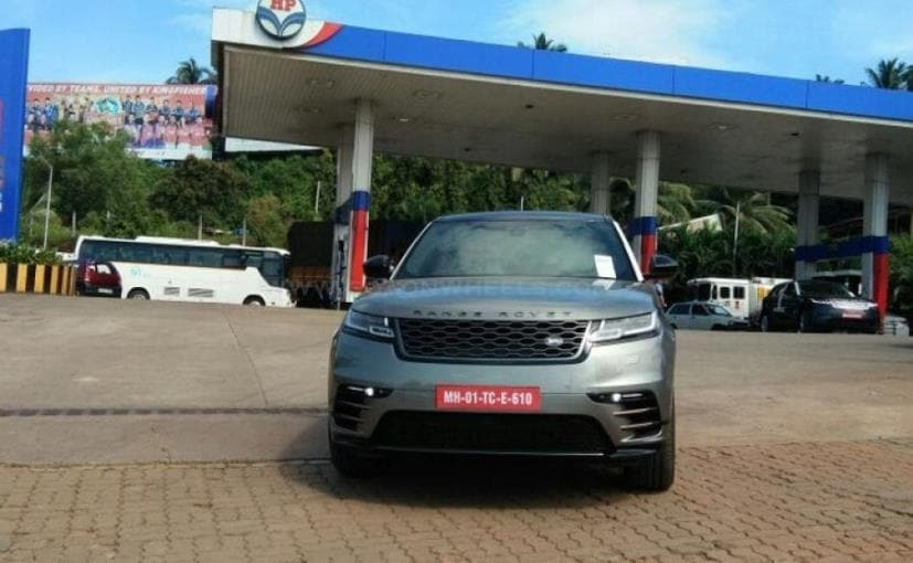 The Range Rover Velar was unveiled early this year in March, while bookings started in August