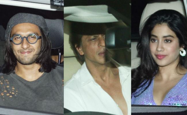 Padmavati's Deepika Padukone Hosts Grand Party. Shah Rukh Khan, Ranveer Singh, Jhanvi In Attendance