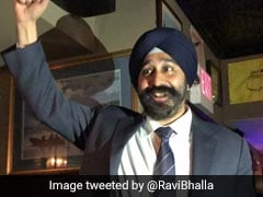 After Racist Fliers, Ravi Bhalla First Turbaned Sikh Mayor In New Jersey