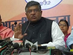 केंद्रीय मंत्री रविशंकर प्रसाद ने कहा, नोटबंदी से देश में घटी वेश्यावृत्ति