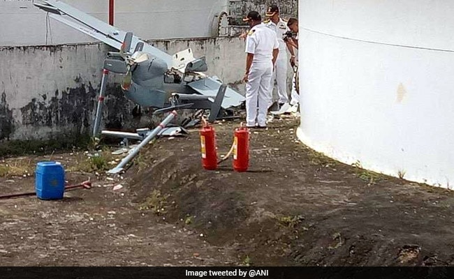 Navy's Remotely Piloted Aircraft Crashes Near Kochi Base During Take-Off