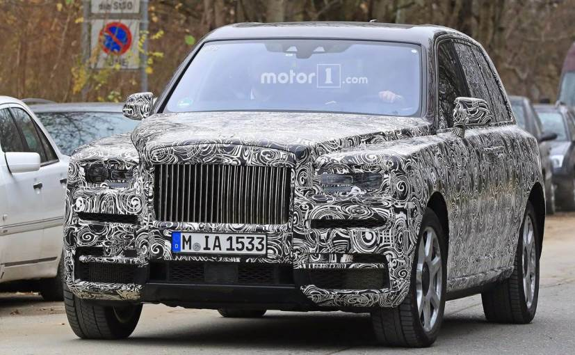rolls-royce cullinan spotted testing again with new production parts