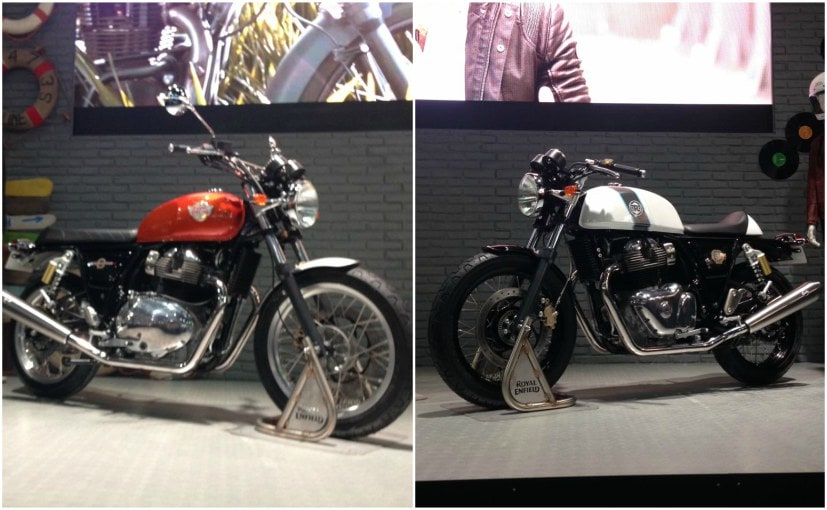 Royal Enfield has finally unveiled its new 650 cc bikes at EICMA Motorcycle Show