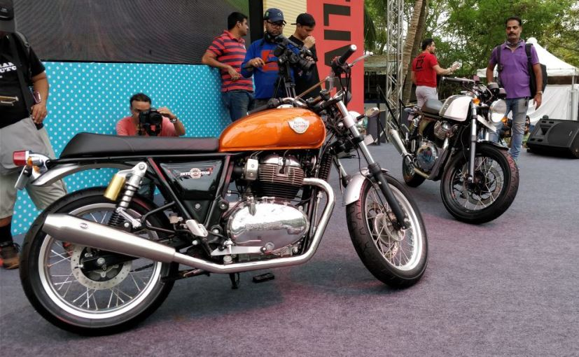 Royal Enfield Interceptor 650 and the Continental GT 650 made their global debut at the EICMA 2017