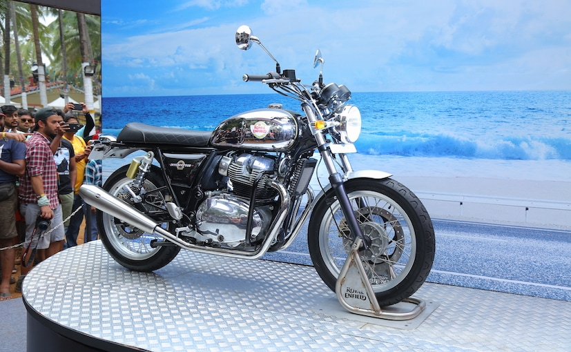 Royal Enfield Interceptor 650 Chrome Variant Deliveries Begin Ndtv