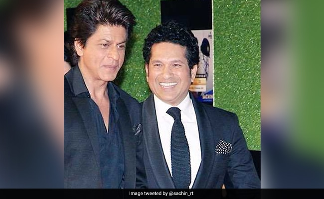 Sachin Tendulkar Greets SRK On His Birthday, Calls Him A Person With A Big Heart