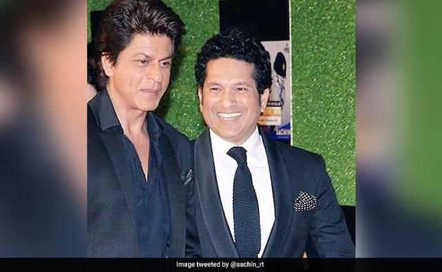 Sachin Tendulkar Greets SRK On His Birthday, Calls Him A Person With A Big Heart