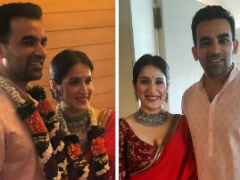 Sagarika Ghatge And Zaheer Khan Are Now Married. See Pics