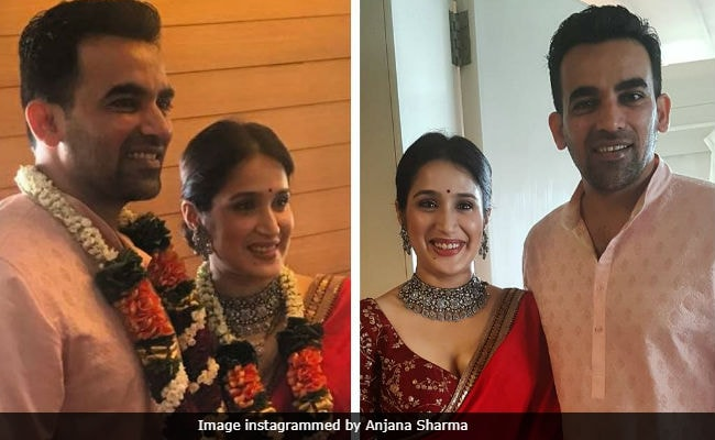 Bengaluru: Cricketer Zaheer Khan and Sagarika tie the knot