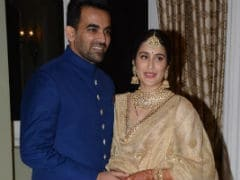 Sagarika Ghatge And Zaheer Khan Close Wedding Festivities With Mumbai Reception