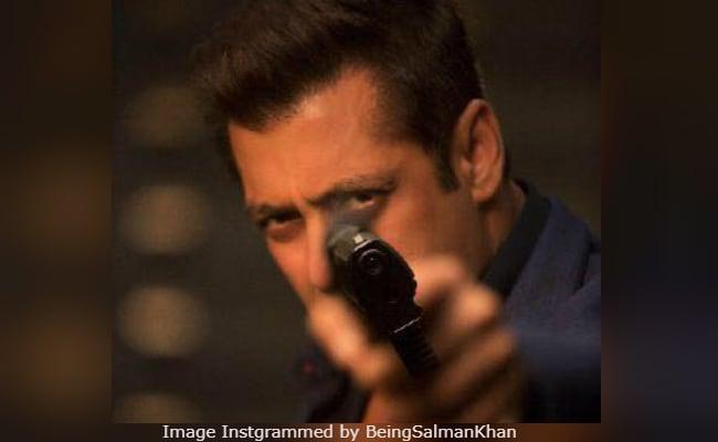 Salman Khan Is On Race 3 Tracks Already. See Pic