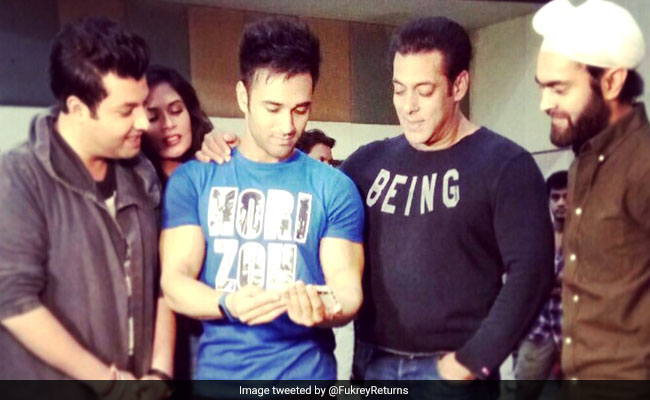 When Salman Khan Surprised The Team Of Fukrey Returns