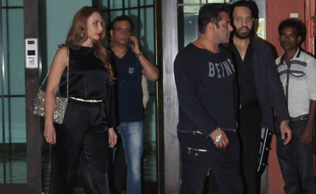 Salman parties with alleged beau Lulia and ex-flame Katrina