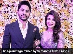 Samantha Ruth Prabhu And Naga Chaitanya's Wedding Reception. See More Pics