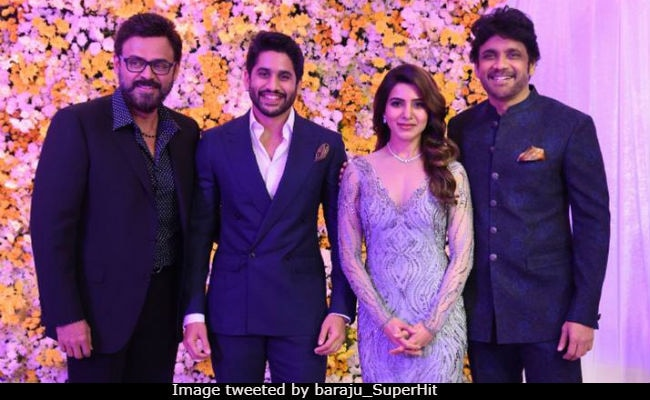 Samantha and Naga Chaitanya's wedding reception