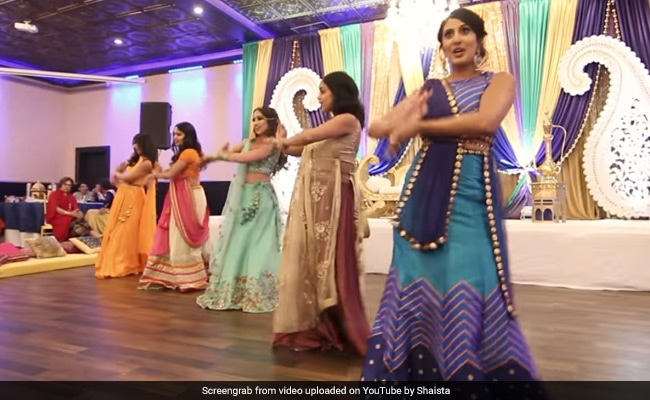 Watch This Bride's Fabulous Sangeet Performance With Her Besties