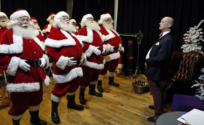 Ahead Of Christmas, Santa Claus School Is In Session. See Pics