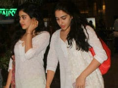 Jhanvi Kapoor's Debut Film May Release Before Sara Ali Khan's <i>Kedarnath</i>