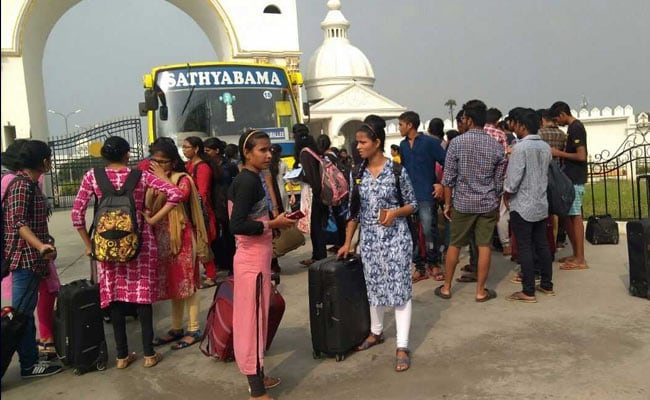 Chennai's Sathyabama University Students Asked To Leave Hostel After Night Of Violence