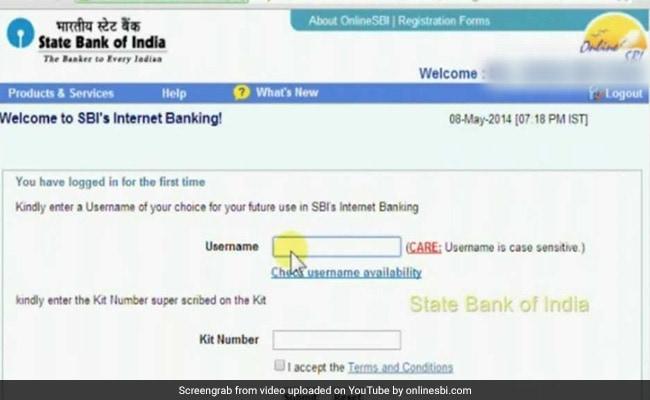 Internet Banking Sbi