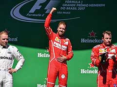 Sebastian Vettel Wins Brazilian Grand Prix, Lewis Hamilton Fourth From Pits
