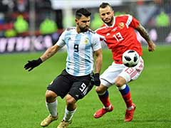 Sergio Aguero Seals Argentina Win In Moscow