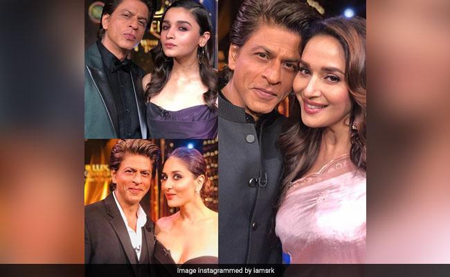 यादों में खोए शाहरुख खान, माधुरी-करीना और आलिया के बारे में कह डाला ये...