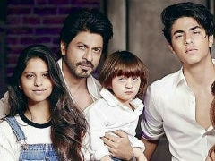 Shah Rukh Khan's '3 Vices' - Suhana, Aryan, AbRam