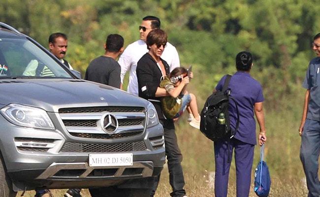 PHOTOS: घर लौटने को तैयार नहीं शाहरुख खान के बेटे अबराम, यूं दिखाए नखरे...