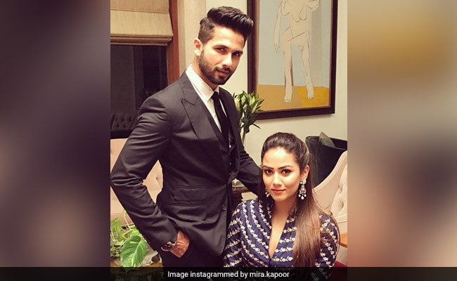 Dear Shahid Kapoor And Mira Rajput, Thank You For This Lovely Picture