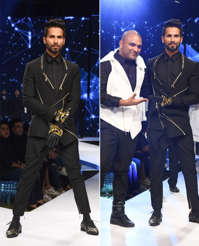 shahid kapoor gq fashion nights