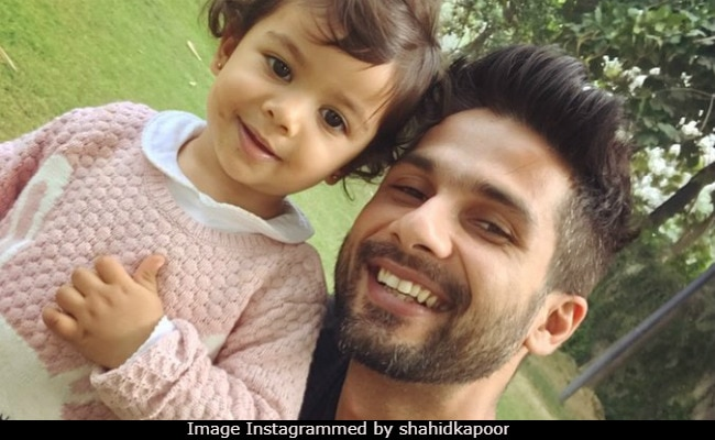 Like Father, Like Daughter. Misha Kapoor's Selfie With Dad Shahid Kapoor Is Going Viral