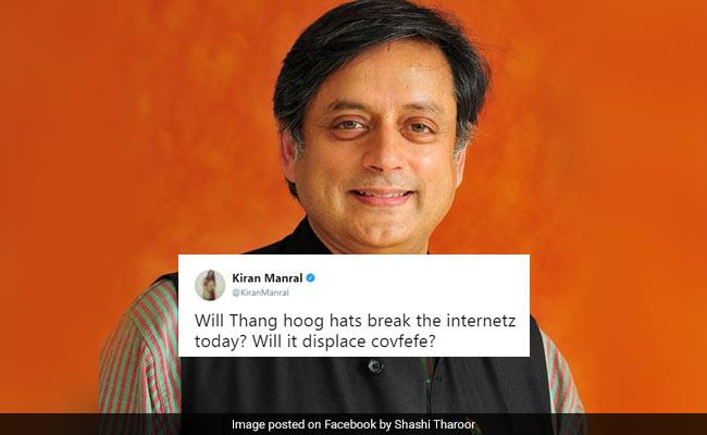 'Thang Hoog Hats'? Shashi Tharoor's Typo Has Twitter Going 'Hain?'