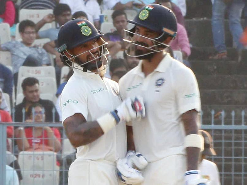 India vs Sri Lanka, 1st Test Day 4: Shikhar Dhawan, KL Rahul Put Hosts In Control