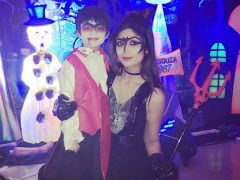 Inside Shilpa Shetty's Halloween Party For Son Viaan. See Pics