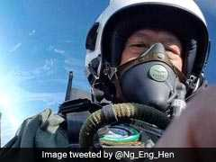 """It Was Really Smooth"": Singapore Defence Minister Flies India's Tejas Fighter"