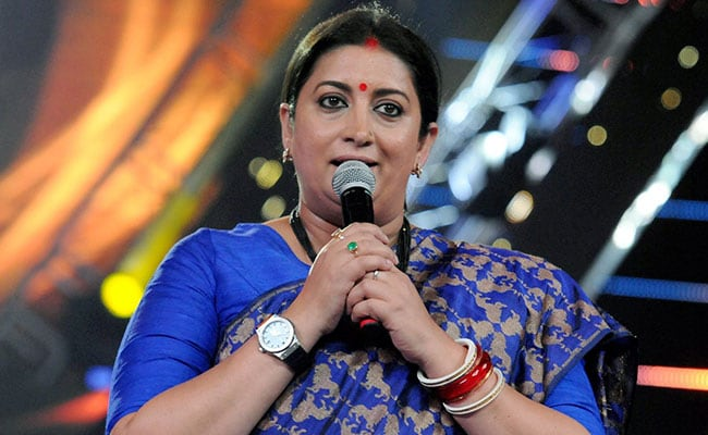 What Smriti Irani Said About Party Colleague's 'Ripped Jeans' Remark