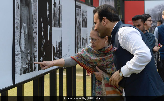 Indira Gandhi Opposed Those Dividing India Over Religion: Sonia Gandhi