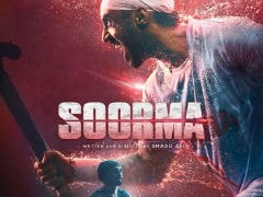 <I>Soorma</i> First Poster: Diljit Dosanjh In Hockey Legend Sandeep Singh's Feisty 'Comeback' Story
