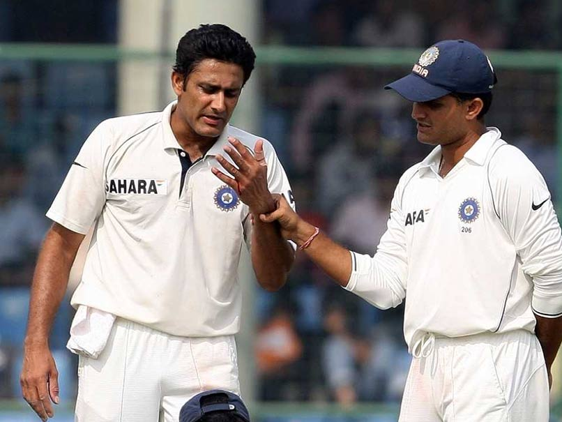 Sourav Ganguly Says He Compelled Selectors To Pick Anil Kumble For 2003 Australia Tour