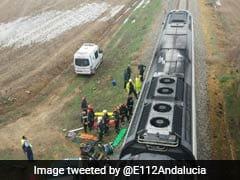 21 Hurt As Passenger Train Derails in Spain