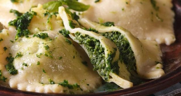 spinach and ricotta ravioli recipe