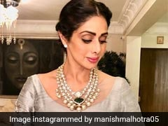 Sridevi's Style And Makeup File: 7 Times She Absolutely Nailed It!