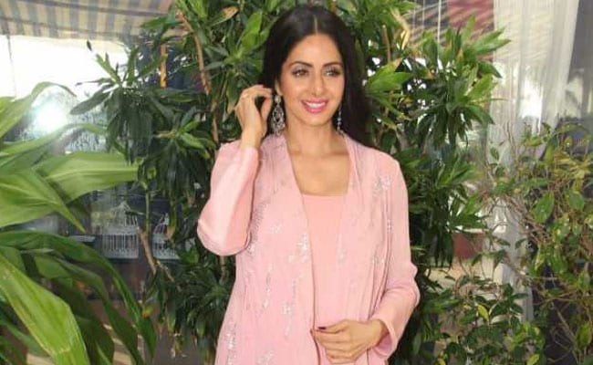 Sridevi Says She Doesn't Believe In 'Retakes'
