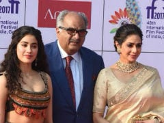 Sridevi And Daughter Janhvi Kapoor Stole The Limelight At IFFI 2017