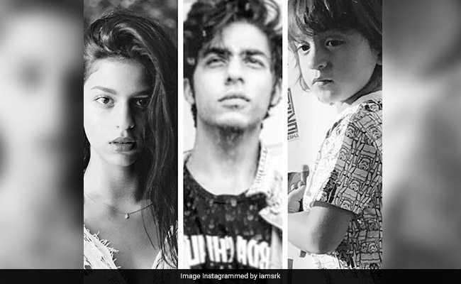 शाहरुख खान ने अपने तीनों बच्चों का Photo शेयर कर लिखा, 'मेरी बुराइयां...'